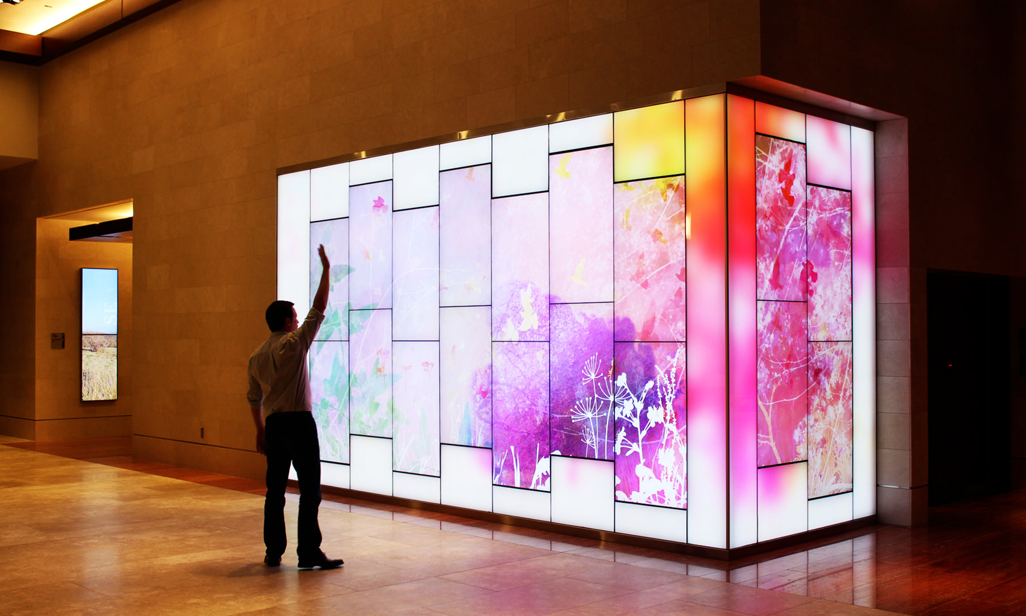 Interactive Art Wall By Float4 For The State Employee S